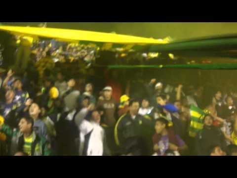 """""""Defensa y Justicia 5 Banfield 3"""" Barra: La Banda de Varela • Club: Defensa y Justicia"""