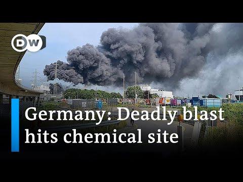 Ontploffing Bayer in Duitsland