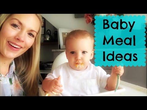 Γεύματα για μωρό 8 μηνών
