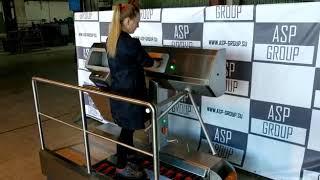видео товара Станция гигиены рук и обуви (санпропускник) ASP-HL-04