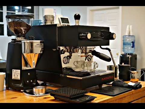 Pop-Up Espresso Bar Set Up