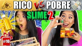 RICO VS POBRE FAZENDO AMOEBA/SLIME 2 #ESPECIALFIMDEANO | Blog das irmãs