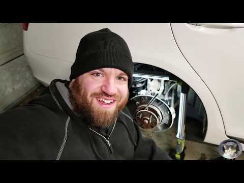 Installing Extended Wheel Studs Lexus GS430 2006