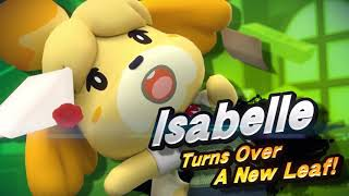 Isabelle  - (Animal Crossing) - Isabelle in Super Smash Bros. Ultimate - Reveal Trailer
