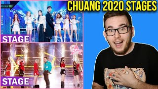 Chuang 2020 Stages! Ice Queen & Right Place Stage [REACTION]