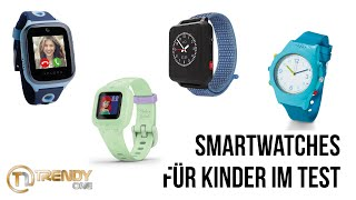 Kinder-Smartwatches im Test (Alcatel MT40X, TchiboTelefonuhr, Garmin vívofit jr. 3, XPLORA 4, Anio5)