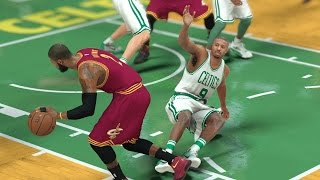 NBA 2K17 My Career - Kyrie Irving Drops Justice! PS4 Pro 4K