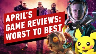 April 2021's Best and Worst Reviewed Games - Reviews in Review by IGN