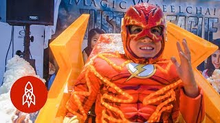 Wheelchair Costumes Turn Kids Into Superheroes
