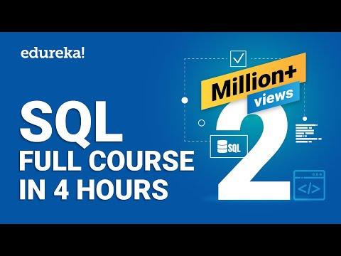 SQL Full Course | SQL Tutorial For Beginners | Learn SQL ...