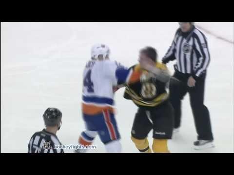Trevor Gillies vs Shawn Thornton