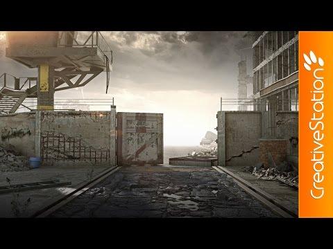 Уроки живописи — Devolution — 3D Speed art (#3ds Max, Zbrush