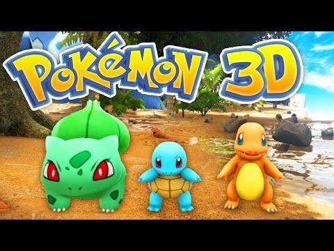 The BEST POKEMON Game EVER! (Pokemon 3D #1)