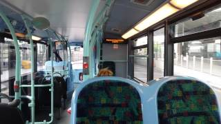 preview picture of video 'Journey on the 49 (ADH10 SN60BYF) Alexander Dennis Enviro 400 Hybrid 10.1m'