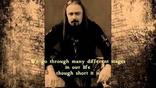 Quorthon - label on the wind (lyrics)