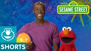 Sesame Street: Don Cheadle and Elmo -- Inflate