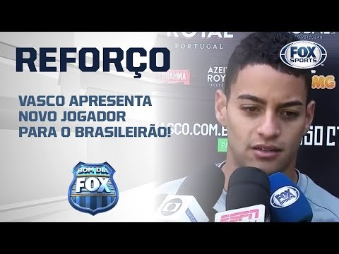 Vasco apresenta novo reforço para o Brasileirão!
