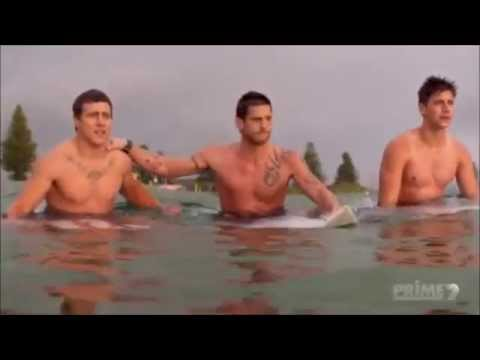 Heath's Last Surf: Home and Away 29th July 2014