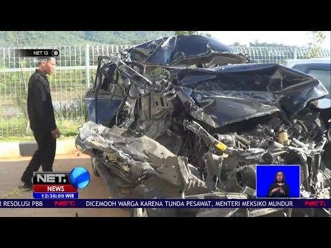 Mobil Pemudik Kecelakaan di Tol Batang Semarang NET12