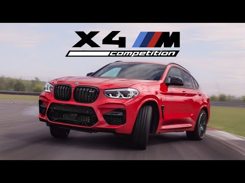 2020 BMW X4M Competition Review – Track Monster