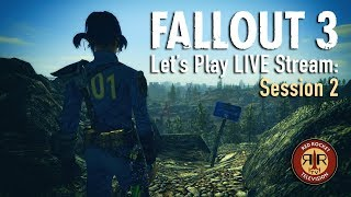 Fallout 3 - Live Stream - PC with tons 'o mods - Session 2