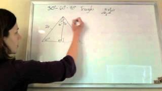 30-60-90 Triangle Reasoning