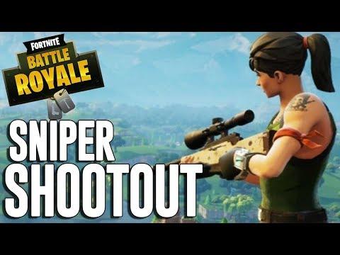 Sniper Shootout! 35 Frags - Fortnite Battle Royale Gameplay - Ninja