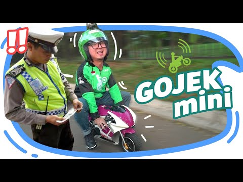 Download JADI GOJEK MINI EH KE RAZIA POLISI !! HD Mp4 3GP Video and MP3