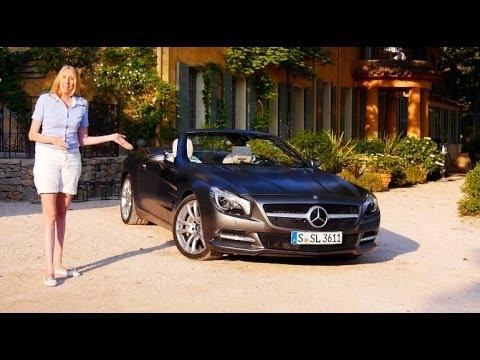 Mercedes SL-Class 500 test drive review Mercedes SL500 - Autogefühl
