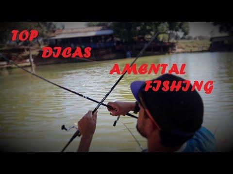 Como pescar com ultralight da Amental fishing (PESQUEIRO ESMERALDA)