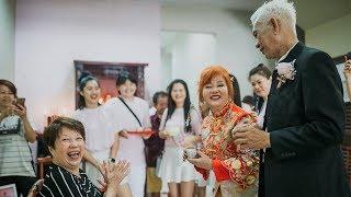 Viral Pasangan Kakek Nenek Menikah Lagi saat Ulang Tahun Pernikahan ke-50, Disaksikan Anak dan Cucu