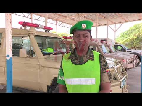 Meet Kyasiimire, a female AMISON ambulance driver