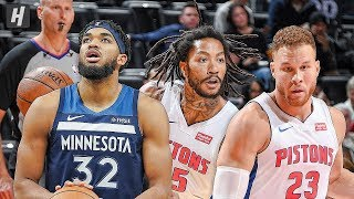 Minnesota Timberwolves vs Detroit Pistons - Full Highlights | November 11, 2019 | 2019-20 NBA Season