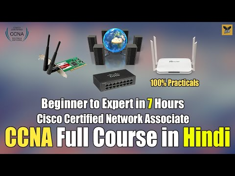 CCNA Full Course in One Video | Full Tutorial for Beginners to Expert [Hindi]