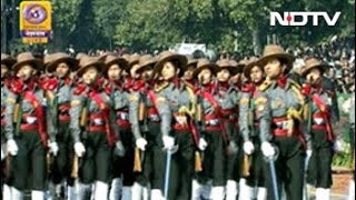 Woman Power Leads The Way At 70th Republic Day Celebrations