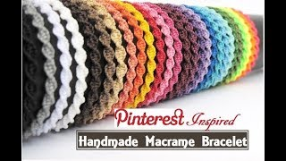 How To Make Macrame Bracelets | DIY | Handmade Jewellery Ideas | Thread Bracelet |Creation&you