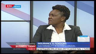 Business Today 25th August 2016 [Part 2] - INTERVIEWS ON: TICAD Conference and Insurance
