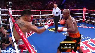 Floyd Mayweather - How To Execute The Lead-Right Hand Set Up (Skills Breakdown - Film Study)