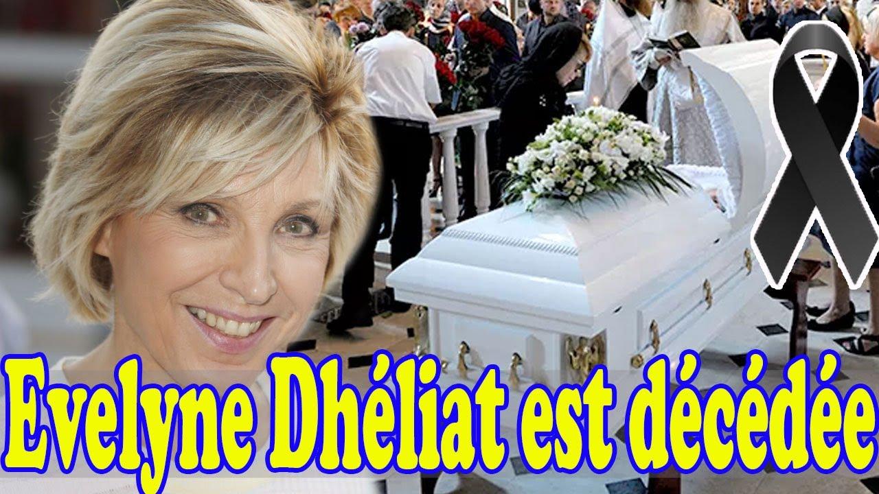 Fille Evelyne Dhéliat: elle fond en larmes annonce de façon inattendue la triste nouvelle de sa mère