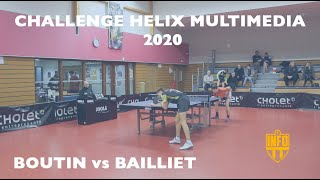 Matheo BOUTIN vs Mael BAILLIET | CHALLENGE HELIX MULTIMEDIA 2020 | SHORT FORM