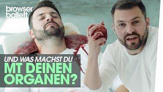 Organspenden retten Leben!