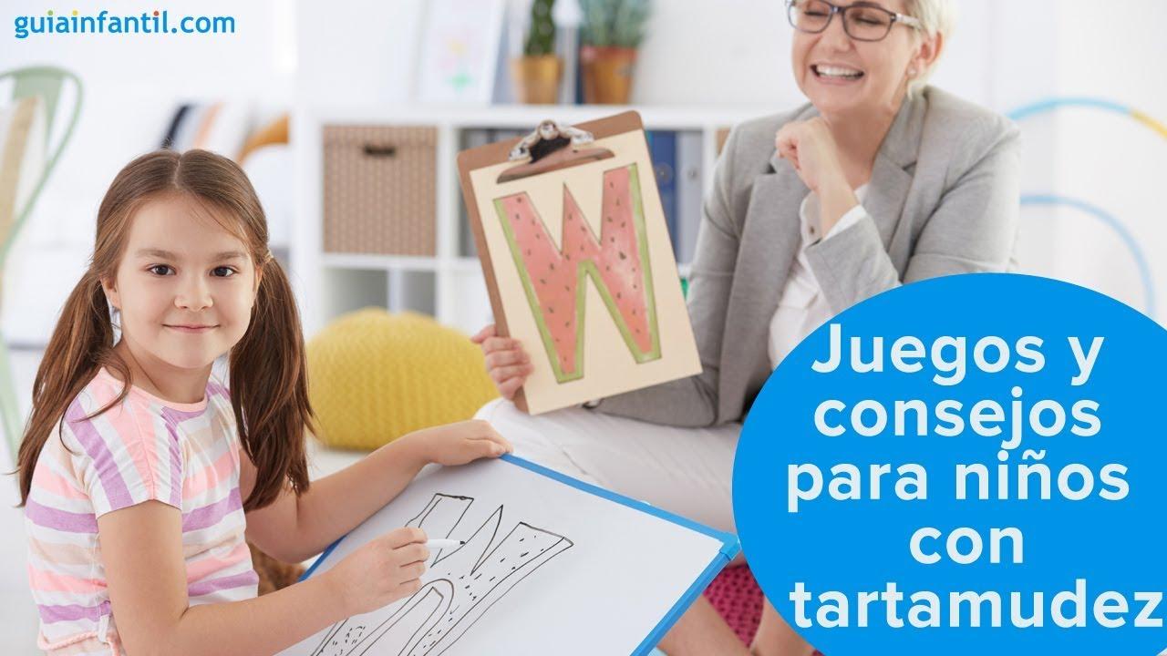 Juegos y consejos para niños con tartamudez