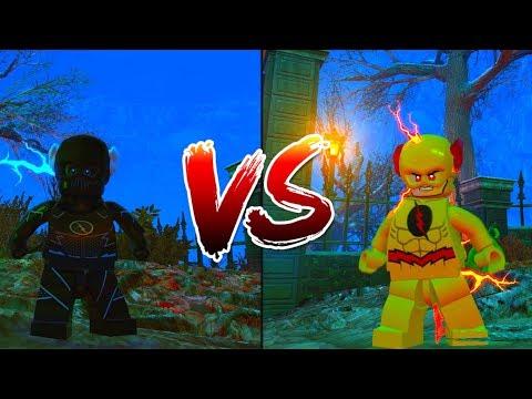 LEGO DC Villains: Zoom vs Reverse Flash Race!!