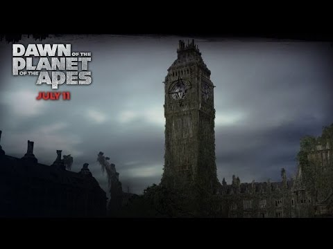 Dawn of the Planet of the Apes (Viral Video 'London Deterioration')