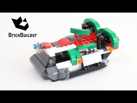 Vidéo LEGO Creator 31037 : Les véhicules de l'aventure