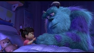 Touching Goodbye Scene  Monsters Inc Boo & Kitty