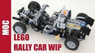Lego Technic - Rally Car Part 1 : Frame