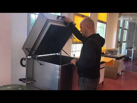 Lavapezzi, lavatrice automatica a cestello