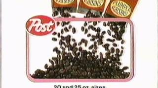 1983 Cute Post Raisin Bran Commercial