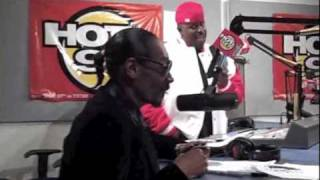 Snoop Dogg visits Hot 97 and Talks To Funkmaster Flex